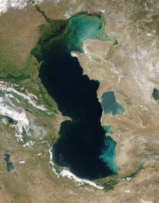 Eutrophierung am Kaspischen Meer